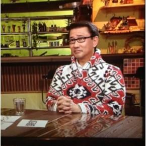 中井貴一様がVandoriのコートを着てテレビ出演してくださりました!